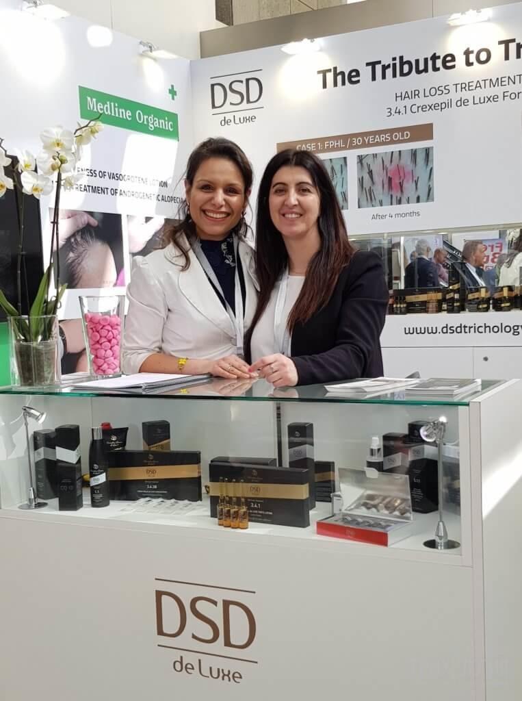DSD de Luxe взе участие на AMWC 2018, Монако